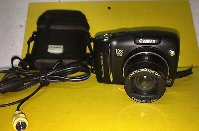 Canon PowerShot SX110 IS 9.0MP Digital Camera 2Gb Memory