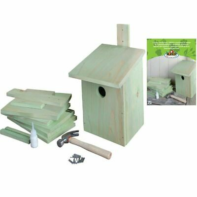 Esschert Design DIY Bird Nesting Rest Box House Pinewood