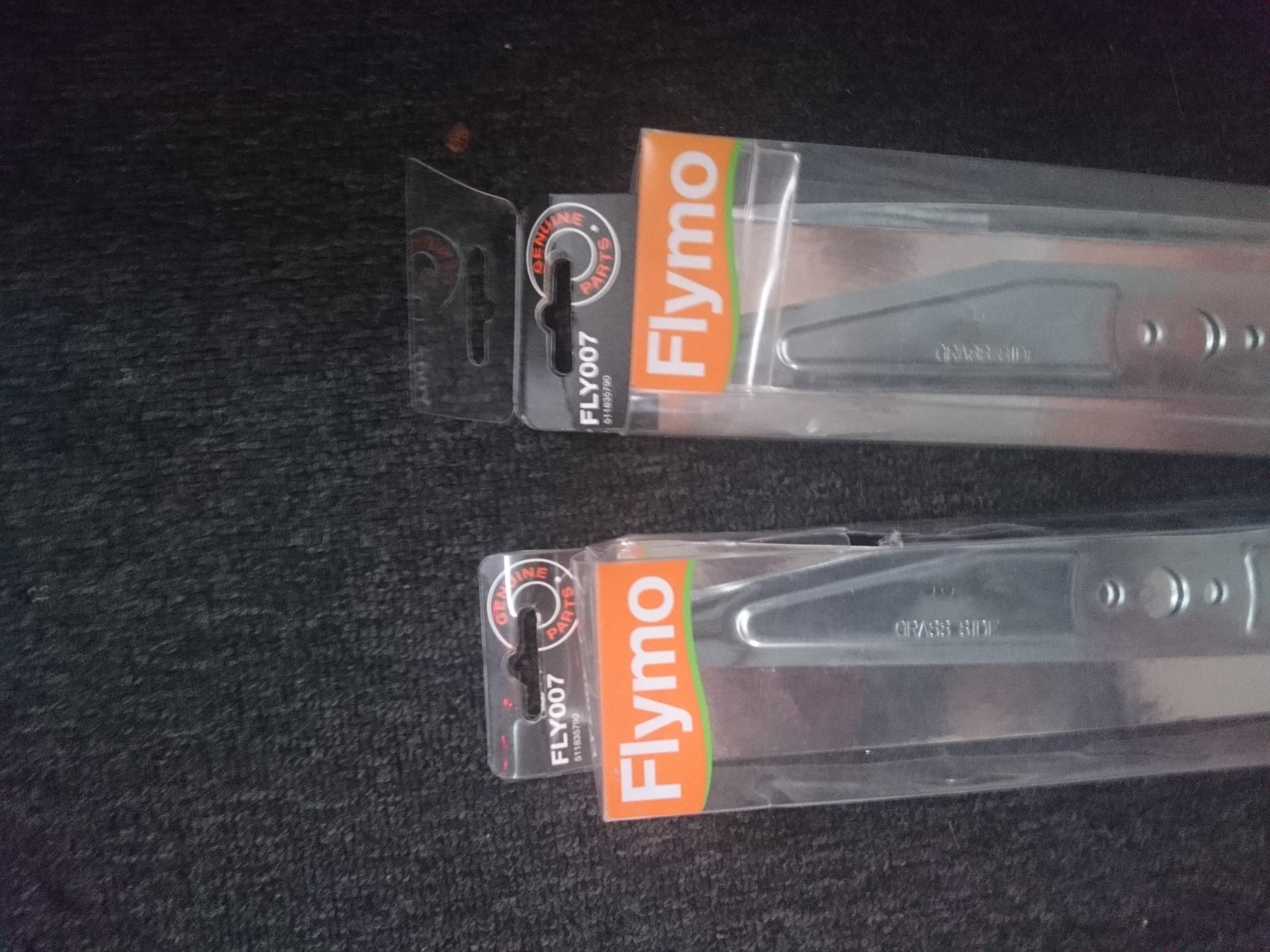FLYMO BLADES X2