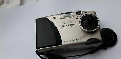 Kodak DC MP Digital Camera (Silver) easy to use, used