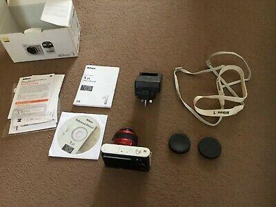 Nikon 1 JMP Digital Camera - Red (Kit w/ VR mm