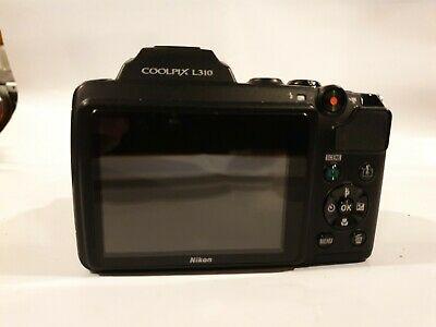 Nikon COOLPIX LMP Digital Camera - Black. SPARES OR