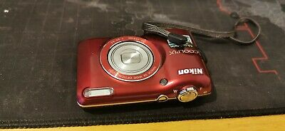 Nikon COOLPIX LMP Digital Camera - Red- Boxed- Used
