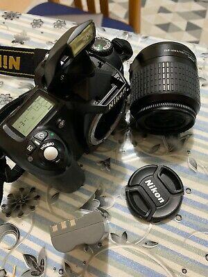 Nikon D DMP Digital SLR Camera - Black (Kit w/ mm