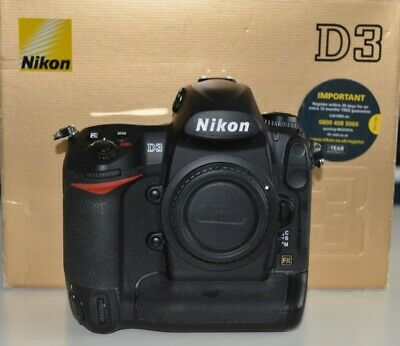Nikon D3 Body 12.1MP Digital SLR Camera - Low Shutter Count,