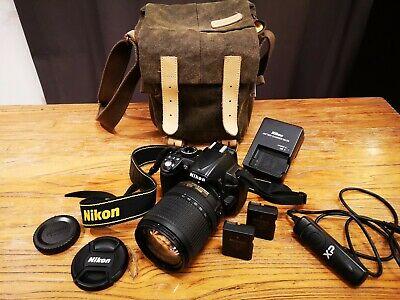 Nikon DMP DSLR Camera + mm G DX VR