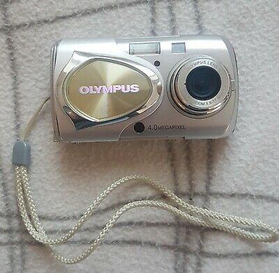 Olympus Mju 400 Digital Compact Camera Metal Body - complete