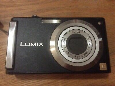 Panasonic LUMIX DMC-FS3 8.1MP Digital Camera - Black