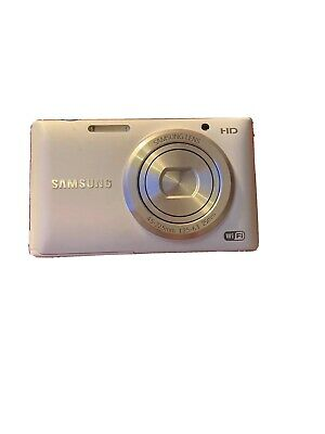 Samsung ST Series ST150F 16.2MP Digital Camera - White