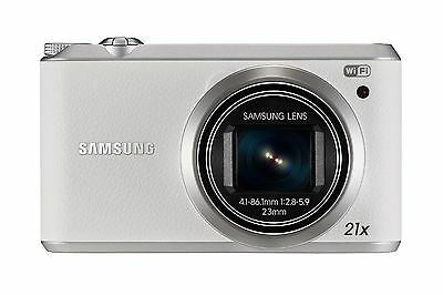 Samsung WB Series WB350F 16.3MP Digital Camera - White