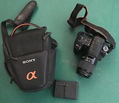 Sony Alpha A350K 14.2MP Digital SLR Camera - Black (Kit w/