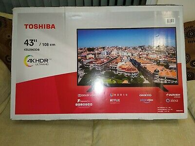 Toshiba 43UDB 43 Inch TV Smart 4K Ultra HD LED SPARES OR