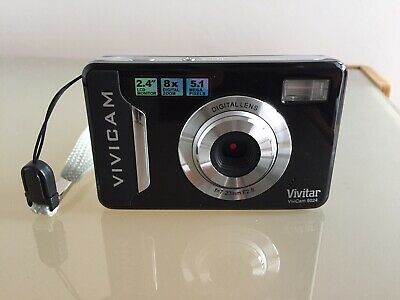 Vivitar ViviCam MP Digital Camera - Black