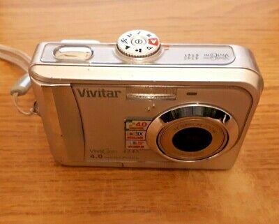 Vivitar ViviCam MP Digital Camera - Silver