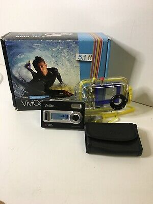 Vivitar Vivicam MP Digital Camera - Black Waterproof