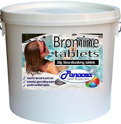 5kg Bromine tablets for hot tub and swimming pools 20 gramme