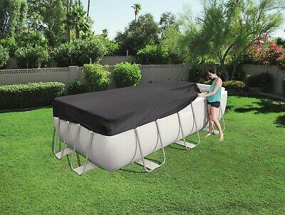 BESTWAY 4m x 2m Rectangular Prism Steel Frame Swimming Pool