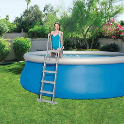 Bestway 4-Step Swimming Pool Safety Ladder Flowclear 132cm