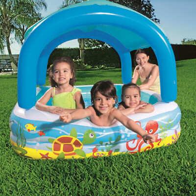 Bestway Canopy Play Pool Blue 140x140x114cm Children Toddler