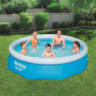 Bestway Fast Set Inflatable Swimming Pool Round 305x76cm