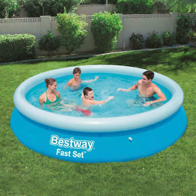 Bestway Fast Set Inflatable Swimming Pool Round 366x76cm