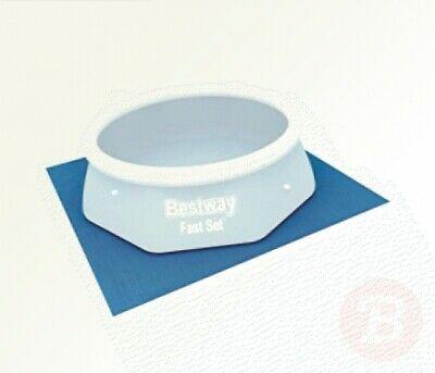 Bestway Ground Cloth Swimming Pool Floor Protector, 274 x