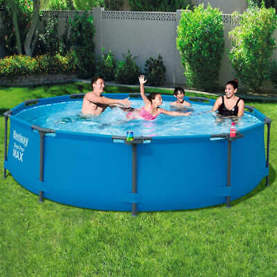 Bestway Swimming Pool Frame 305cm Above Ground with Filter