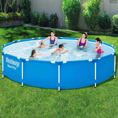 Bestway Swimming Pool Frame 366cm Above Ground with Filter