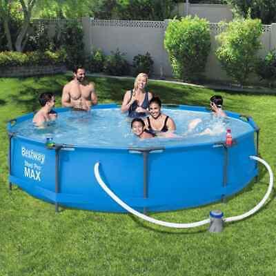 Bestway Swimming Pool Set Frame 366cm Above Ground Filter