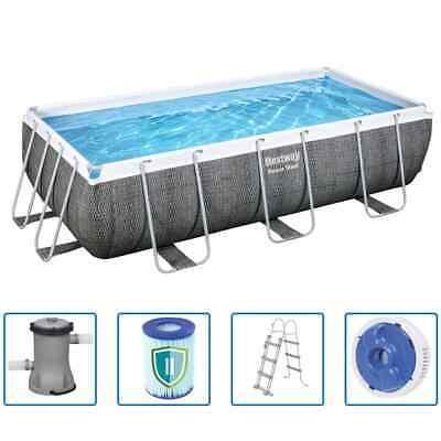 Bestway Swimming Pool Set Frame 549x274x122cm Pool Filter