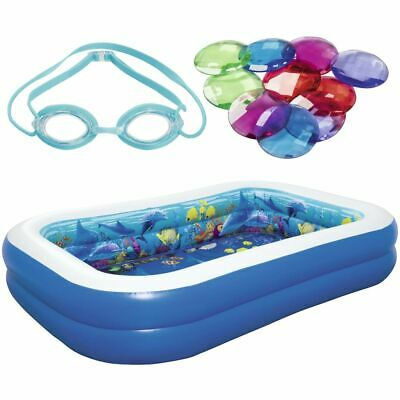 Bestway Undersea Adventure Inflatable Pool with 3D Goggles