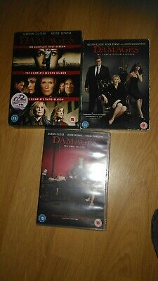 Damages - Series 1-5- Complete collection box set drama