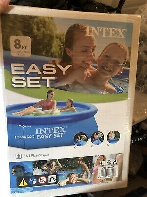 Intex 8ft x 30 Inch Easy Set Above Ground Inflatable
