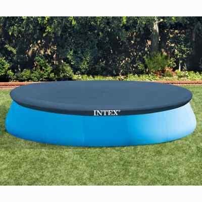 Intex Pool Cover Round 457cm Swimming Ground Pool Cloth