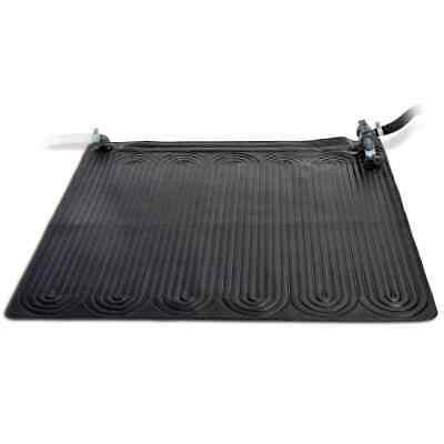 Intex Solar Heating Mat PVC 1.2x1.2m Black Hot Water Energy