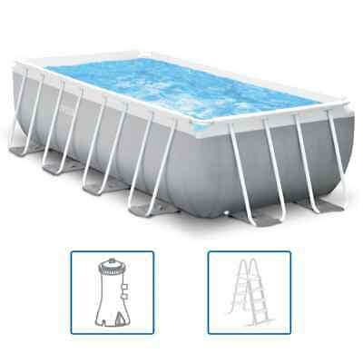 Intex Swimming Pool Set Prism Frame Rectangular