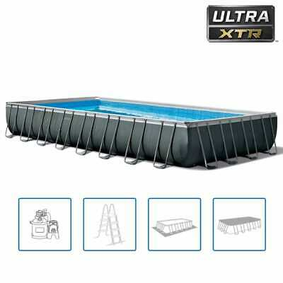 Intex Swimming Pool Set Ultra XTR Frame Rectangular