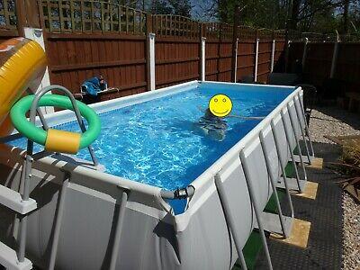 Intex Ultra Metal Frame Swimming Pool Rectangle - 4m x 2m x