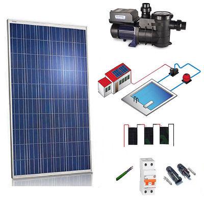 Kit Wizzard Solar for Pool 550W (3/4cv) L/Day
