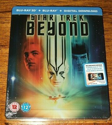 Star Trek Beyond Blu Ray Steelbook