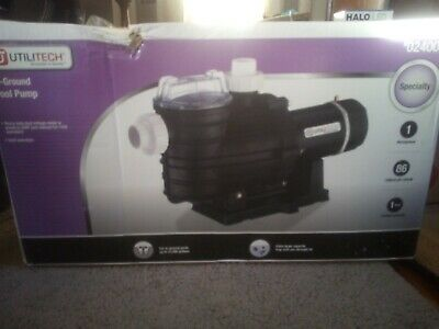 UTILITECH IN-GROUND POOL PUMP # NEW IN BOX
