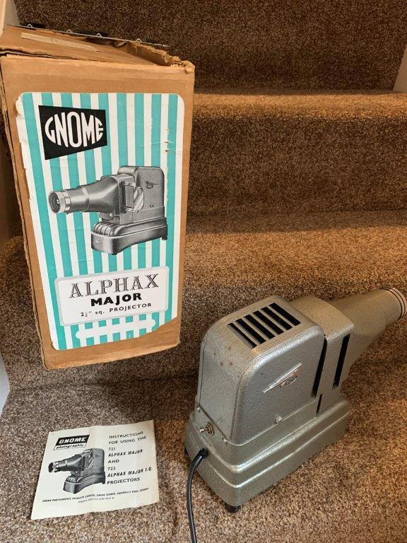 Vintage Cine Camera, Projector & Editing equipment