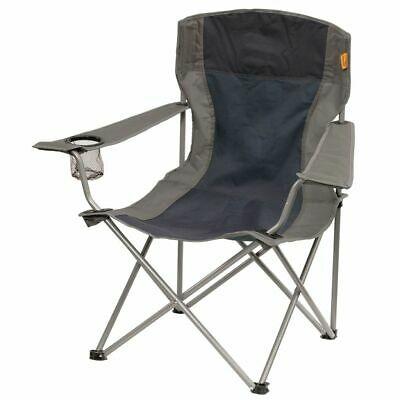 Easy Camp Folding Camping Arm Chair Dark Blue 53x82x88cm