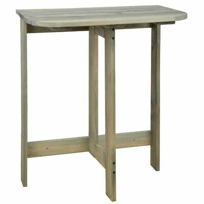 Esschert Design Folding Wall Table Outdoor Garden Balcony