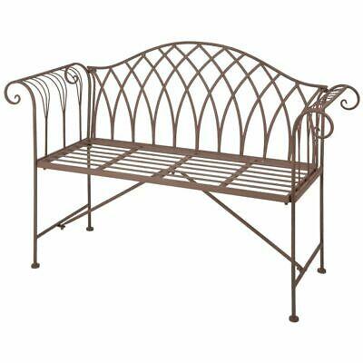 Esschert Design Garden Bench Metal Old English Style Patio