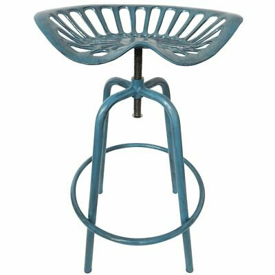 Esschert Design Tractor Barstool Blue IH034 Seat Chair Cast