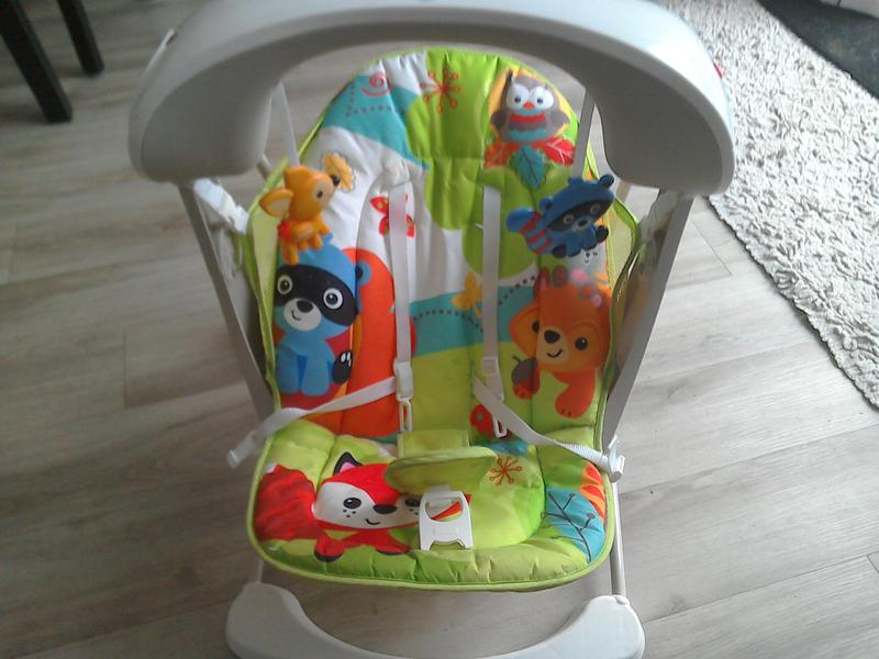 Fisher Price Woodland Friends swing seat