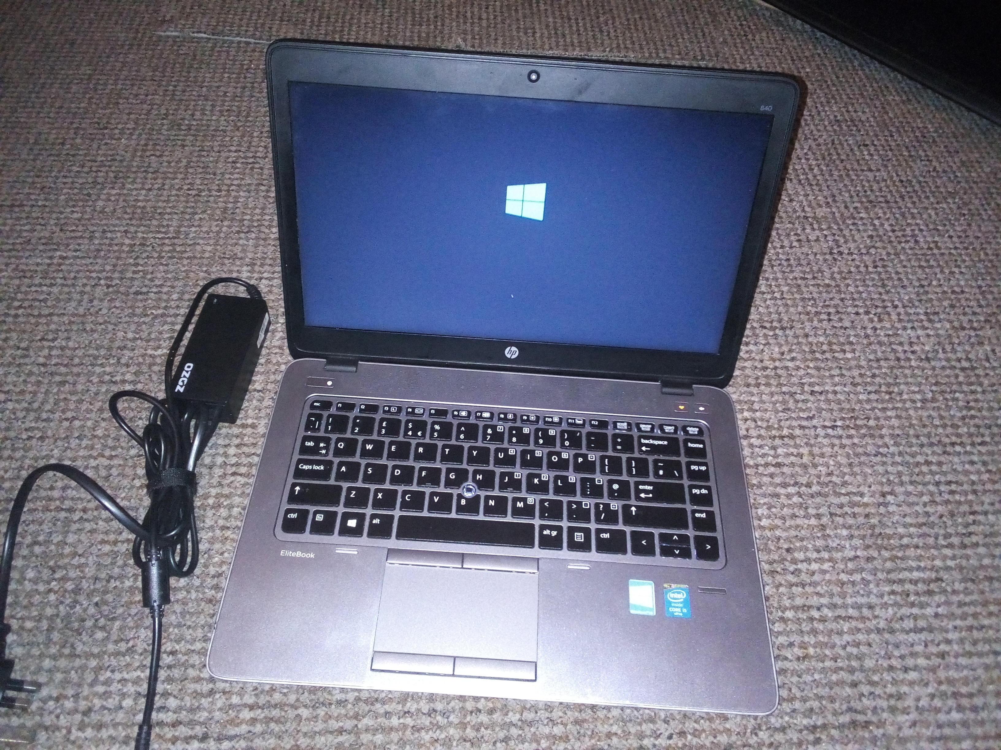 HP Elitebook 840 G2 Intel Core i5 Laptop