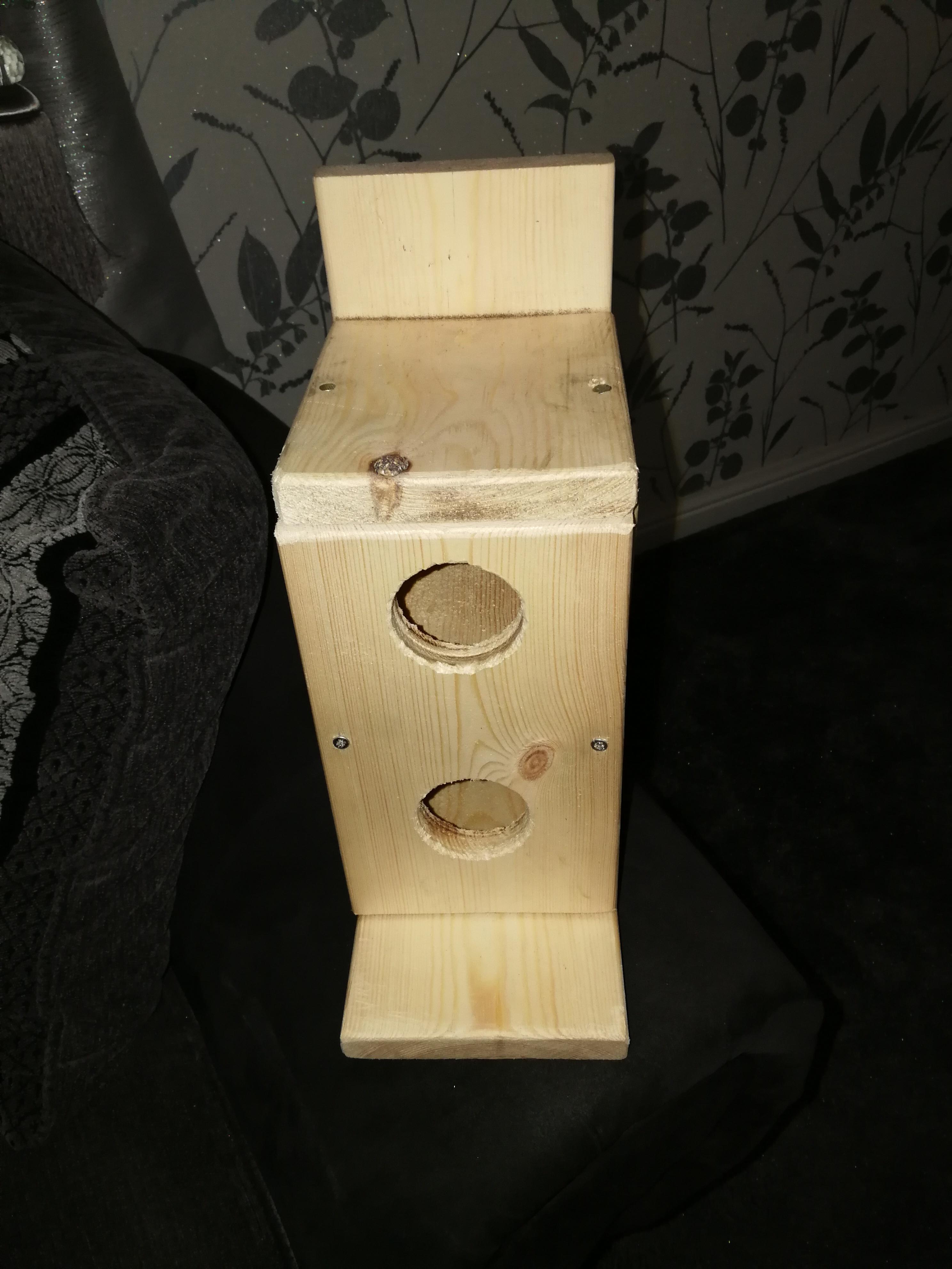 Handmade Wooden Bird House for sale