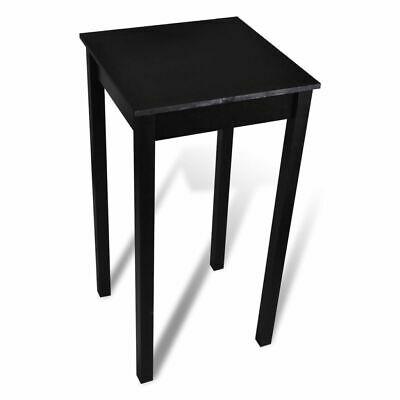 vidaXL Bar Table MDF Black 55x55x107cm Home Kitchen